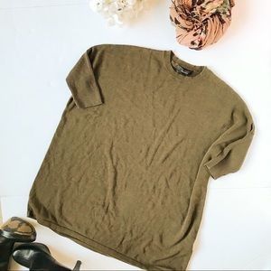 3/$20 Forever 21 Army Green Dolman Sweater